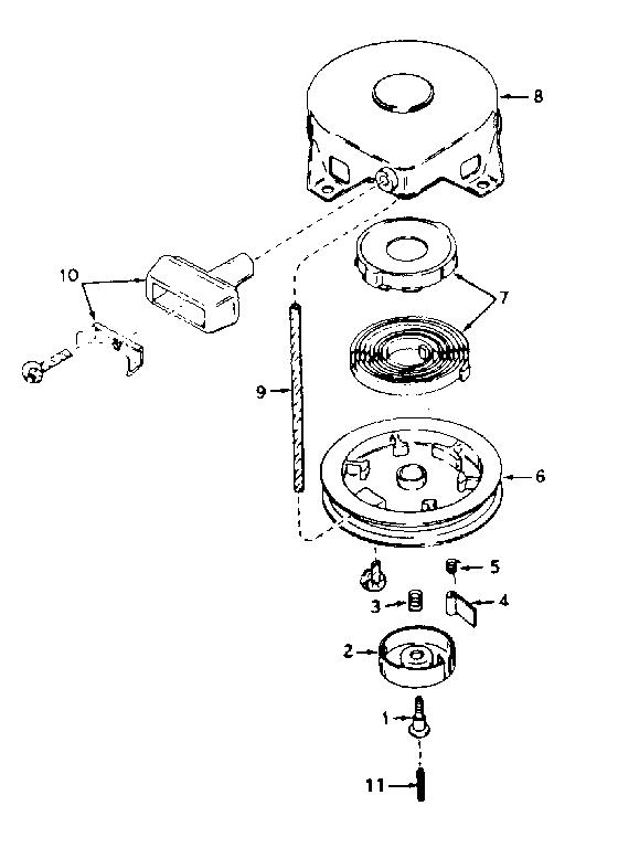Tecumseh model V60-70252H engine genuine parts