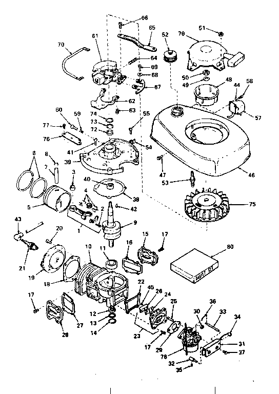 Craftsman model 7999TYPE6 hose reel genuine parts
