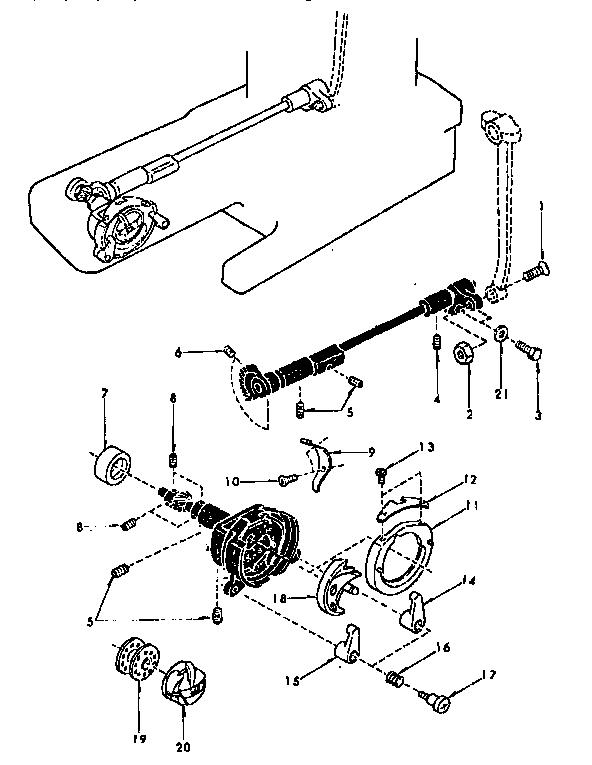 Kenmore model 3851233280 mechanical sewing machines