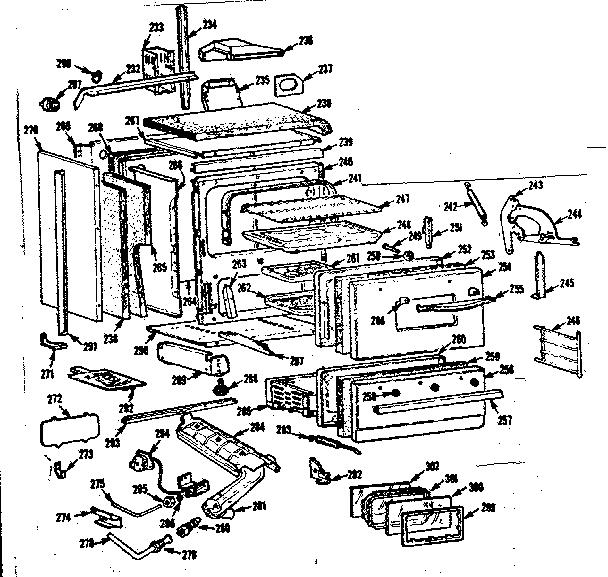 Kenmore model 1037886605 range (gas) genuine parts