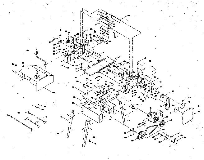 Craftsman model 139954500 planer genuine parts