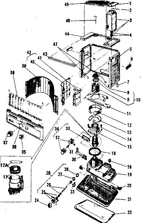 Comfort-Glow model GRW8A heater, kerosene genuine parts