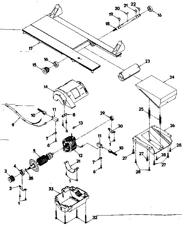 Craftsman model 31523720 planer genuine parts
