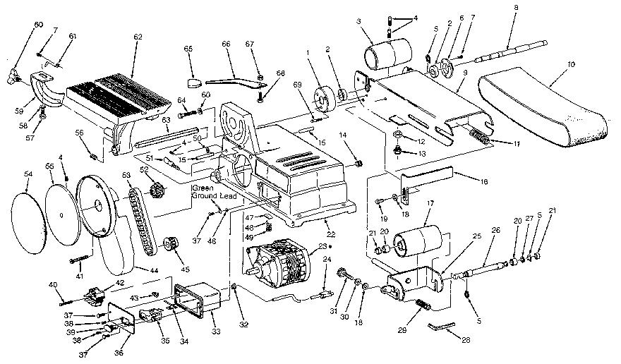 Craftsman model 113226424 sander genuine parts
