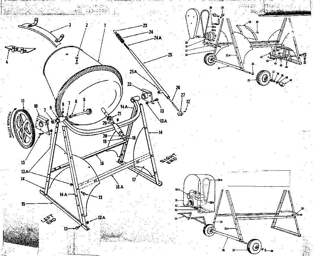 Craftsman model 71375091 mixer- hand genuine parts