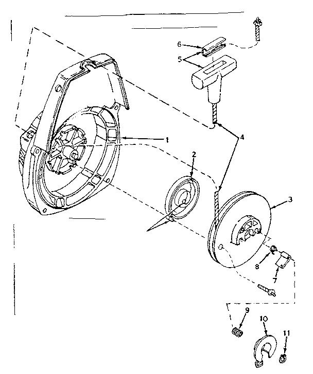 Craftsman model 917350720 chainsaw genuine parts