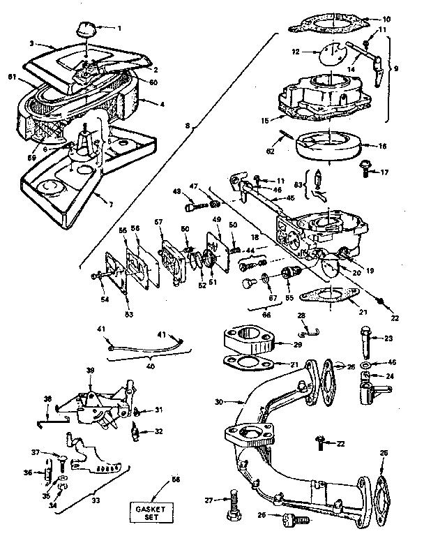 BRIGGS & STRATTON BRIGGS & STRATTON GAS ENGINE Parts