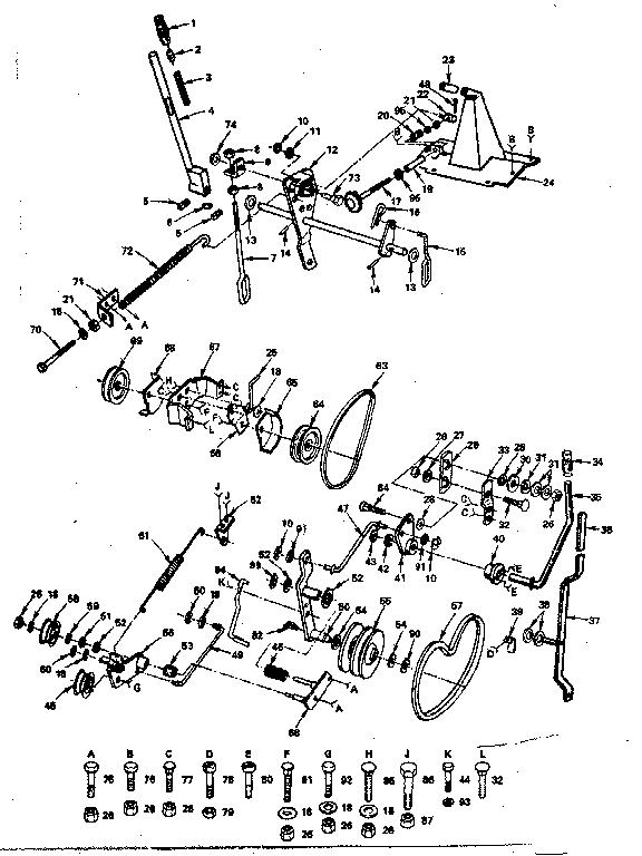Craftsman Tractor Parts Model Sears Partsdirect Html