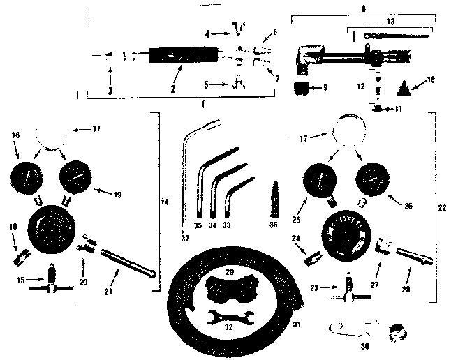 Craftsman model 31354408 welder genuine parts