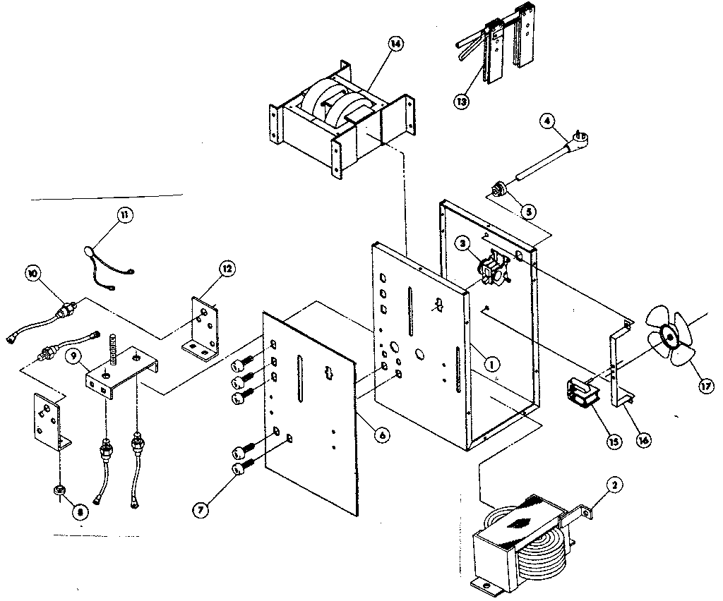 Craftsman model 934201860 welder genuine parts