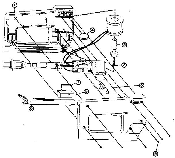 Craftsman model 193684770 stapler electric genuine parts