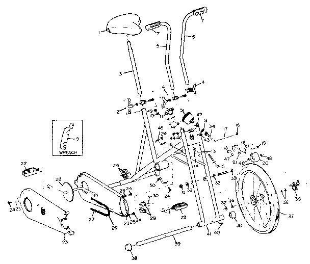Lifestyler model 266287050 misc exercise genuine parts