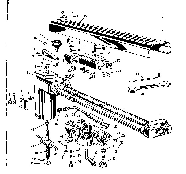Craftsman 10 Radial Arm Saw Wiring Diagram Craftsman