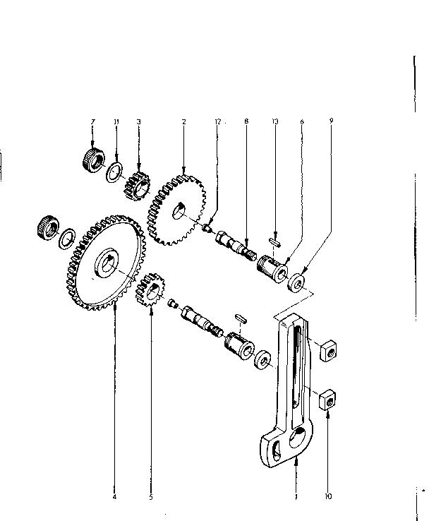 Emco model COMPACT 10 lathe genuine parts