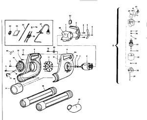 CRAFTSMAN CRAFTSMAN ELECTRIC BLOWER Parts | Model 257796330 | Sears PartsDirect