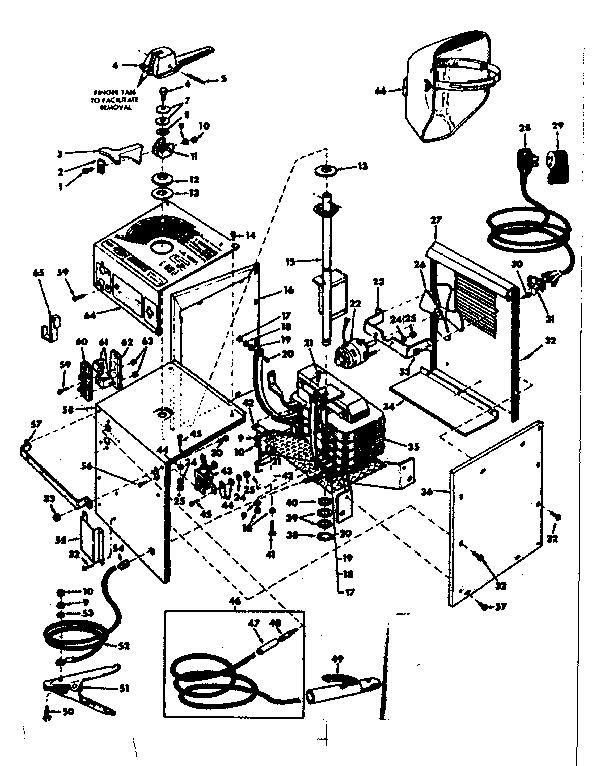 Craftsman model 113201250 welder genuine parts