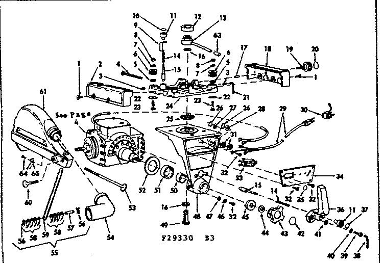 Craftsman model 11329330 saw radial genuine parts