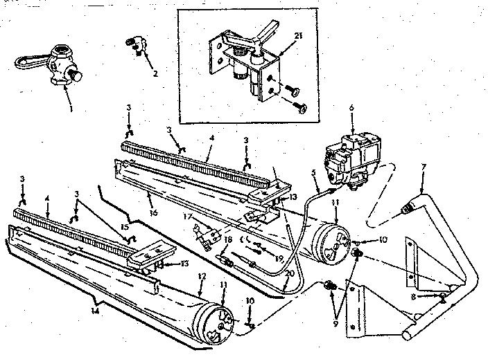 Icp model CG-135DA furnaces/heaters genuine parts