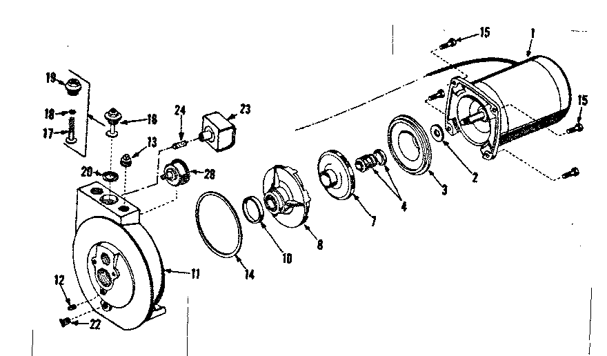 Craftsman model 39025160 pump genuine parts