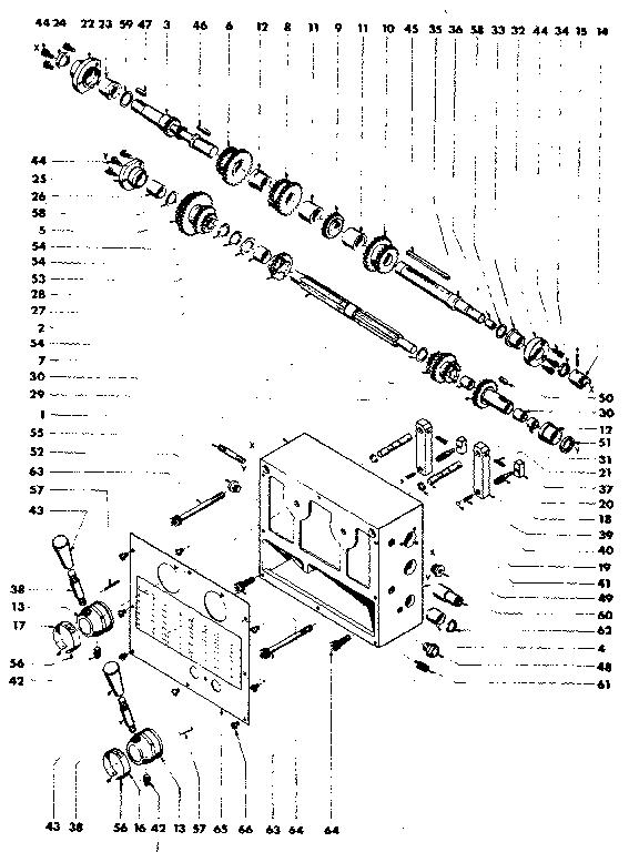 Emco model MAXIMAT V13 lathe genuine parts