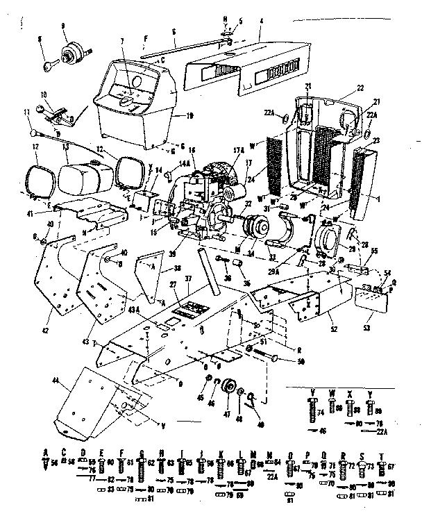 Craftsman model 91725630 lawn, tractor genuine parts