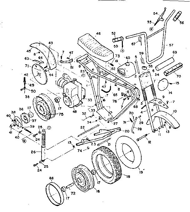 Craftsman model 39180790 gokarts/minibikes genuine parts