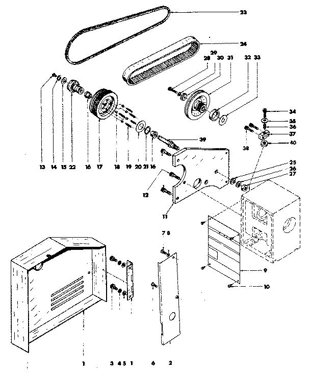 Emco model COMPACT 8 lathe genuine parts