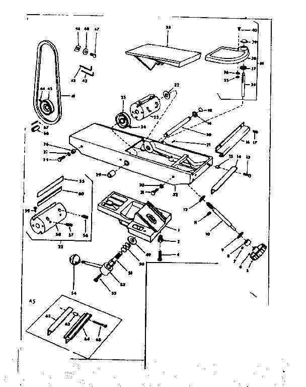 Craftsman model 11321841 jointer/planer genuine parts