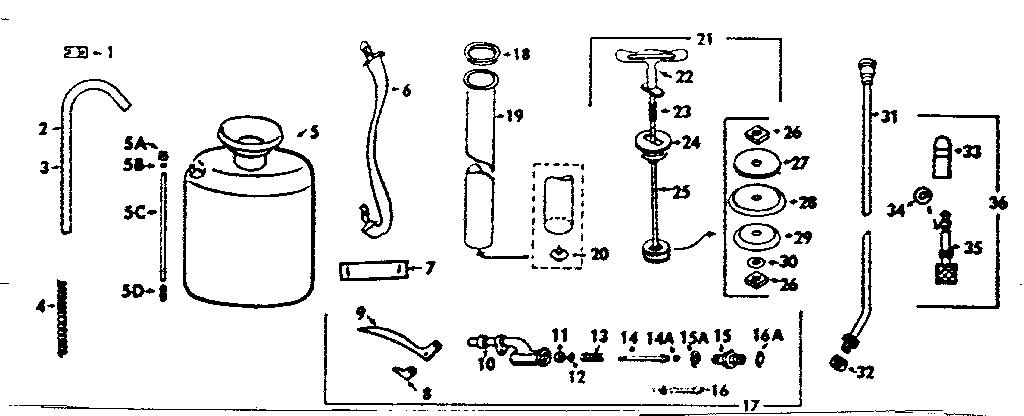Craftsman model 78615511 sprayer and accessory genuine parts