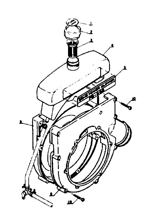 Craftsman model PB-202 blower, gas genuine parts
