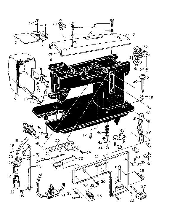 Kenmore model 14812170 mechanical sewing machines genuine