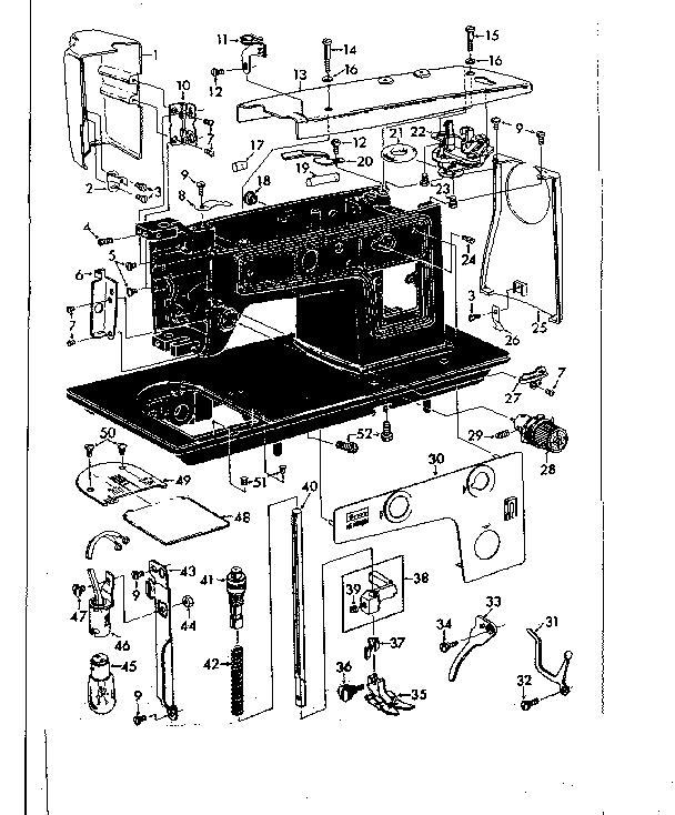Kenmore model 14814220 mechanical sewing machines genuine