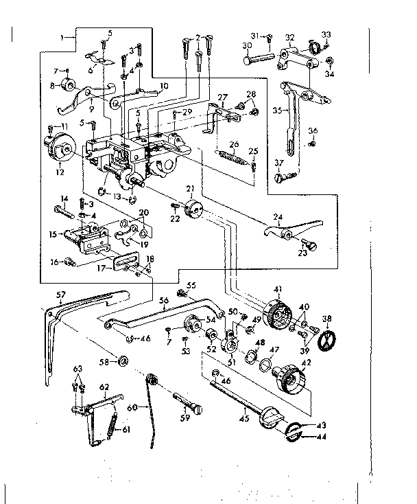 Kenmore model 14814221 mechanical sewing machines genuine
