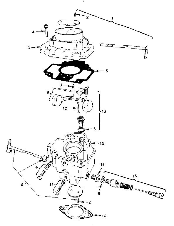 Onan model B48G-GA019.9/3713B engine genuine parts