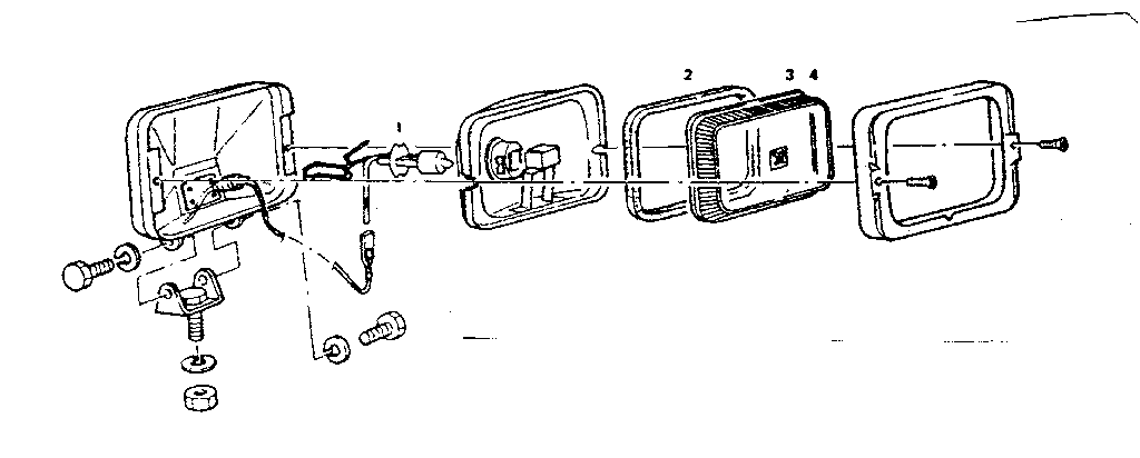 Craftsman model 18855700 lights fog/driving genuine parts
