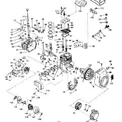 Tecumseh 8 Hp Carburetor Diagram 5 Pin Relay Wiring Fan Model Hm80 155135c Engine Genuine Parts Basic