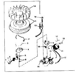 Tecumseh 8 Hp Carburetor Diagram Sodium Dot Model Hm80 155135c Engine Genuine Parts Magneto 3 Results