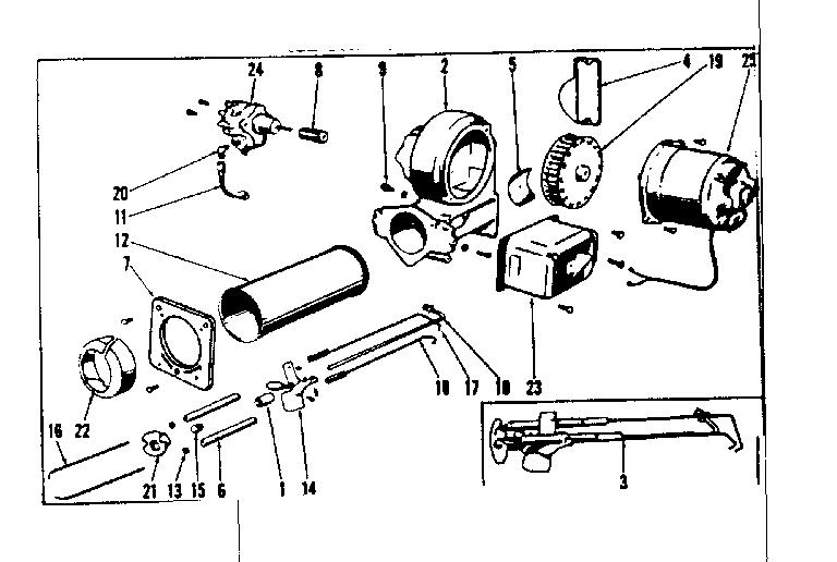 Icp model HO-1 furnace/heater, oil genuine parts