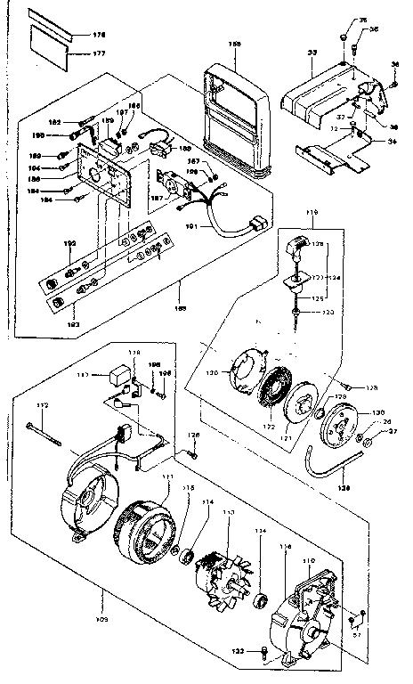 Ihi-Shibaura model SG500 alternator genuine parts