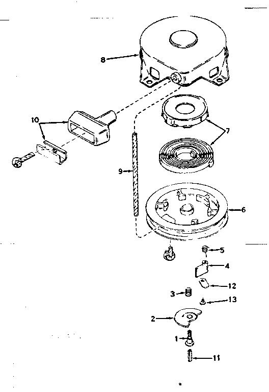 Tecumseh model HS40-55457C engine genuine parts