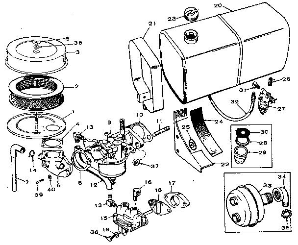 Craftsman model 62720191 welder genuine parts