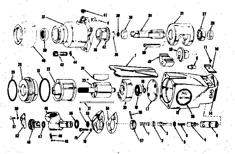 Craftsman model 7561881-1 impact tool genuine parts