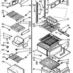 Kenmore 106 Refrigerator Parts Diagram Generac Wiring Generator Model 1067630562 Refrigerators Misc Genuine Liner