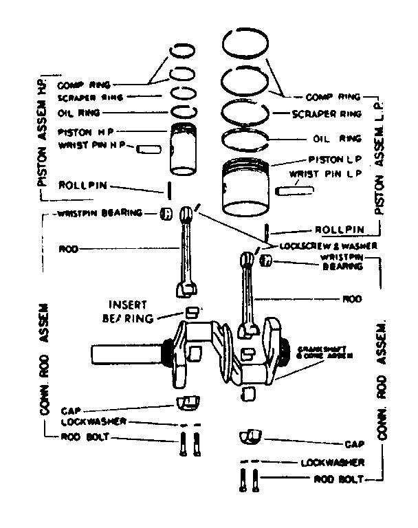Craftsman model 10217325 air compressor genuine parts
