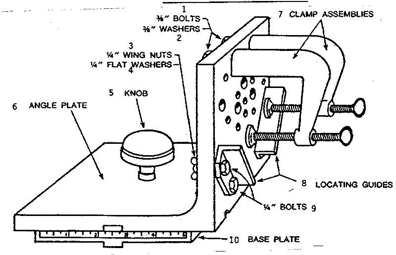 Craftsman model 3236-JIG radial saw accessories genuine parts
