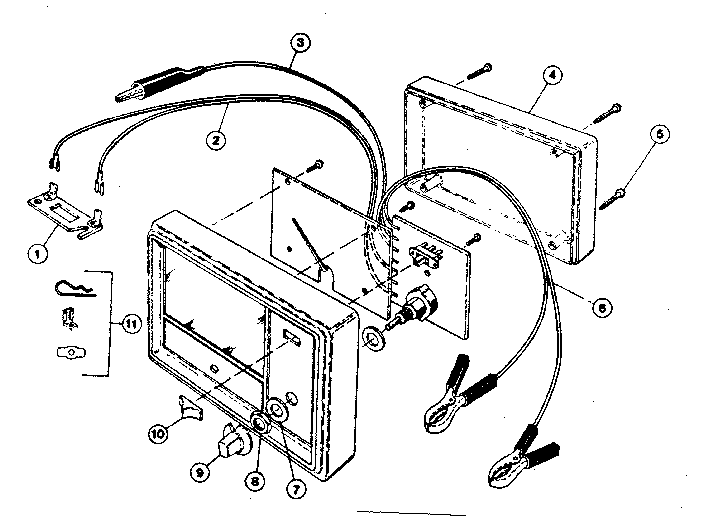 Craftsman model 161216300 analyzer genuine parts