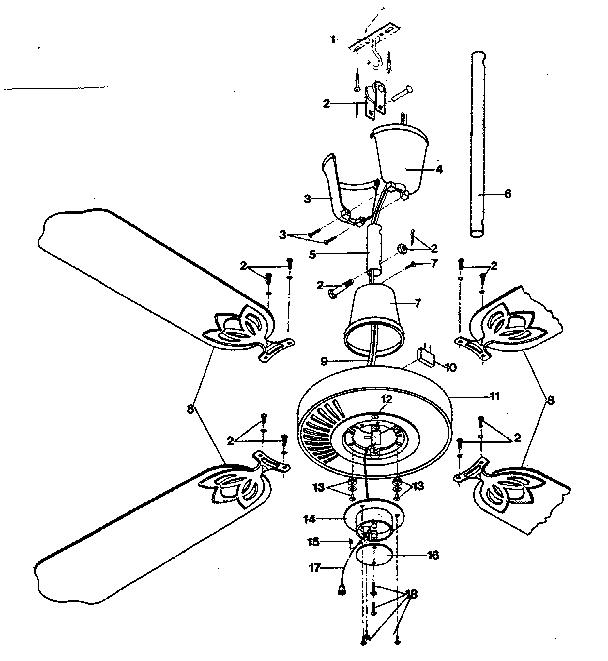 Lasko model 5175 ceiling fan genuine parts