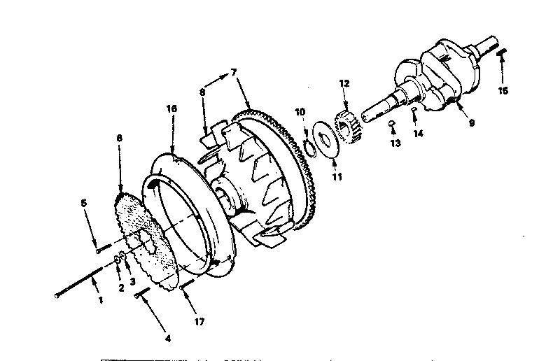 Onan model T260G-GA024/3851A engine genuine parts