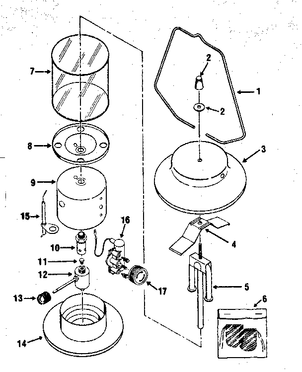 Craftsman model 920727910 lantern genuine parts