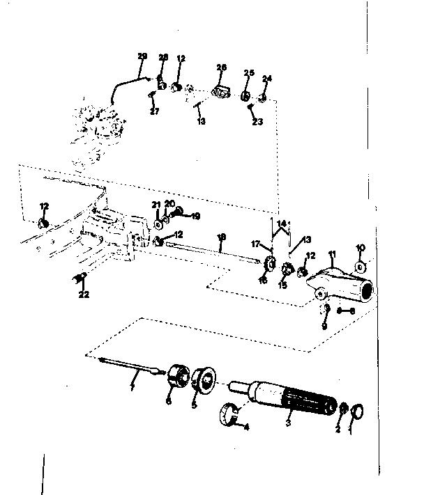 Eska model 14152B boat motor gas genuine parts